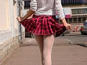 Essie pantyhose loving lady