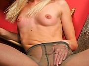 Martha pantyhose loving prettie