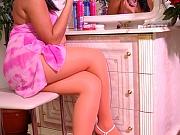 Joanna sexy nylon feet teaser