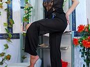 Marion horny nylon feet teaser