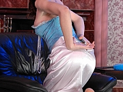 Salome leggy nylon feet teaser