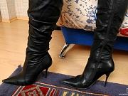Nora awesome nylon feet teaser
