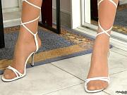 Dennis cute nylon feet teaser
