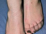Emmie nasty nylon feet teaser