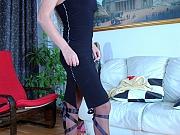 Ophelia nasty nylon feet teaser