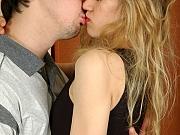 Dolly&Adam eager pantyhose couple