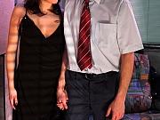 Jaclyn&Mike sweet pantyhose couple