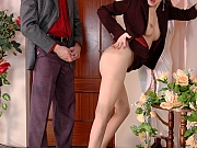 Judith&Mike perfect pantyhose couple