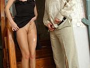 Irene&Gilbert perfect pantyhose couple
