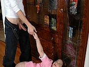 Rachel&Mike kinky pantyhose couple