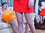 Natali&Adam amazing pantyhose couple