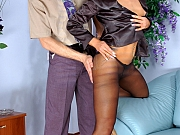 Cornelia&Mike office pantyhose fuck