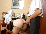 Inessa&Mike office pantyhose games