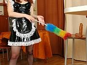Inessa&Vitas nasty office pantyhose sex