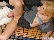 Trudy&Mike nasty office pantyhose sex