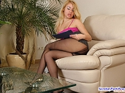 Tina&Janet kinky office pantyhose sex