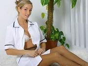 Only Tease – Melanie in a nurse uniform