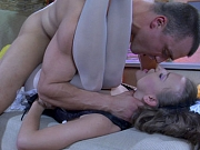 Barbara&Nicholas office pantyhose sex action