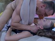 Barbara&Nicholas office pantyhose sex action