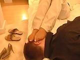 Smell nylon feet 3