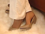 Smell nylon feet 1