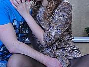 Aubrey&Elijah stunning pantyhose couple