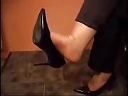 Herrin domina foot worship nylons