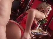 British blonde slut and friends gets fucked