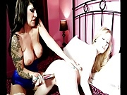 British slut Daisy Rock in lesbian action again