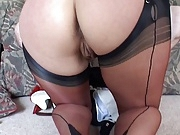 British slut Alex in FF Stockings