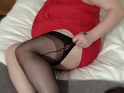 Teaching sissy to smoke - Foot Nylon Stockings Fetish