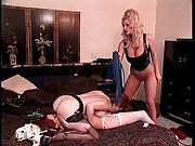 3 big tits lesbians in BDSM action