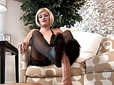 Nylon Stockings Footjob