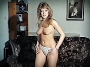 CALL ME - vintage British cutie strip dance pert blonde