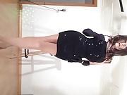 Miniskirts & Seamed Pantyhose