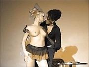 Nylon fetish Lesbians 1 (Recolored)