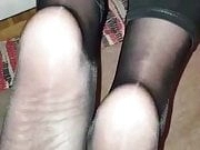 Mature nylon mistress