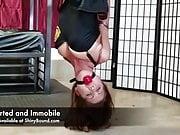 Chrissy Marie Inverted Bondage