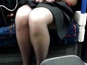 Upskirt Stewardess