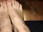 Multiple orgasm (4) with feet