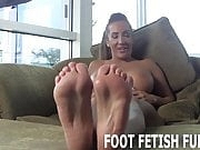 I will show my amazing feet off for you