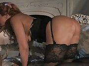 Signora matura in stockings