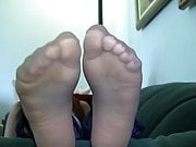 Beautifull shiny nylon soles