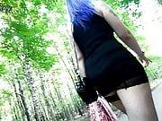 Heels, stockings and getting a huge cumshot in my panties