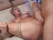 blonde slut banged