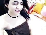 Hot Desi Paki girl dubsmash with Towel