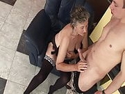 Granny wants stepsons hard cock