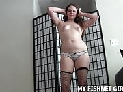 I know all about your addiction to girl in fishnets JOI